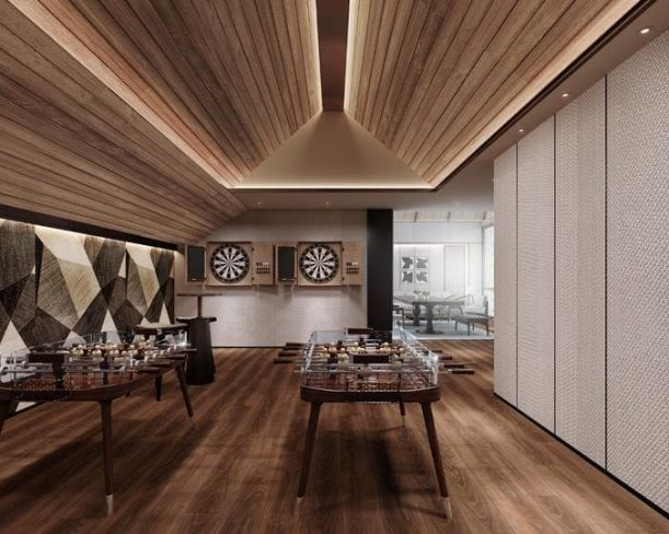 Indoor Games Room Club House